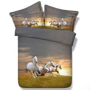 Bedding Set - Gallop at Sunset