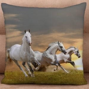 Cushion Cover - A Gallop at Sunset