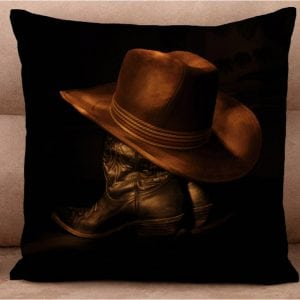 Cushion Cover - Boots & Hats