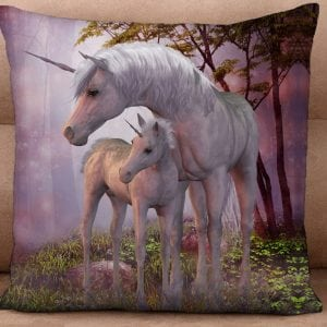 Cushion Cover - Mystical Unicorns