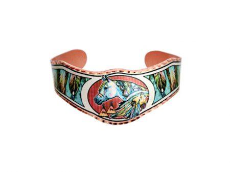 Native Indian Horse Bracelet