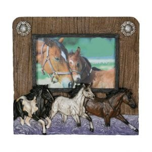 Photo Frame - 3 Horses