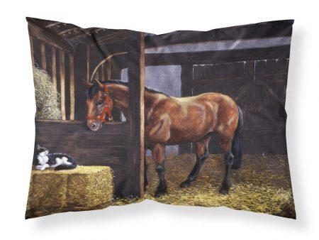 Standard Pillowcase - Horse and Cat