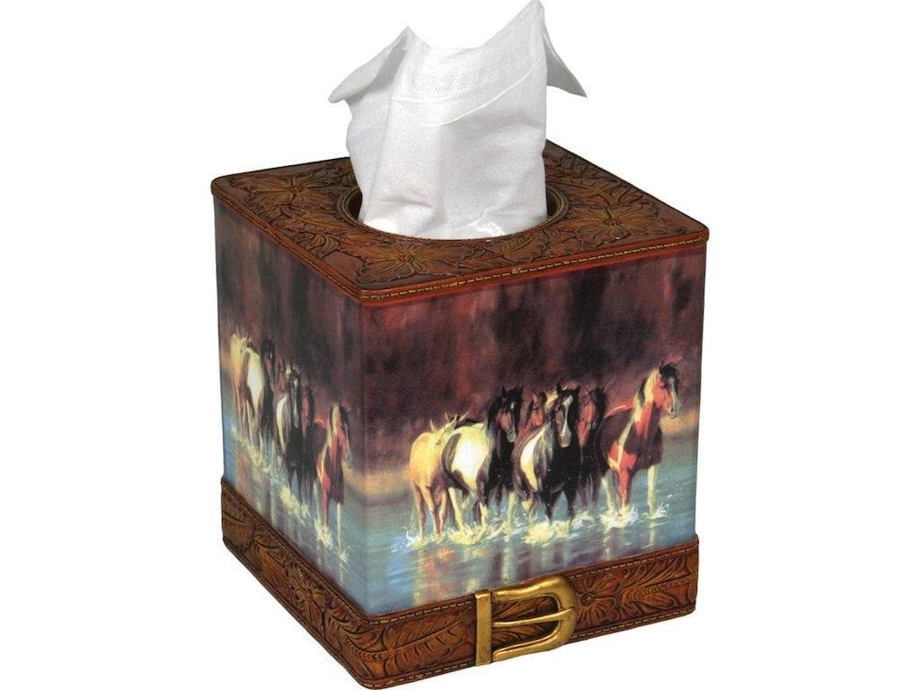 Rush Hour Tissue Box Cover