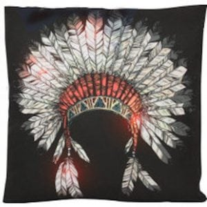 Cushion - Tribal Head Dress