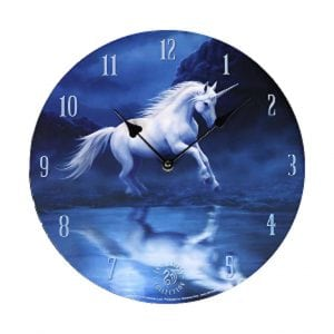 Clock - Moonlit Unicorn