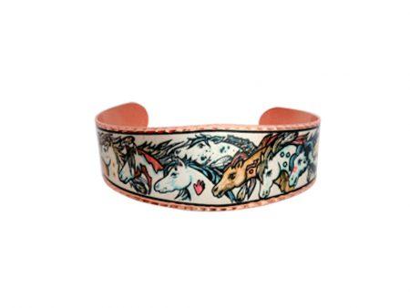 Colourful Native War Ponies Bracelet