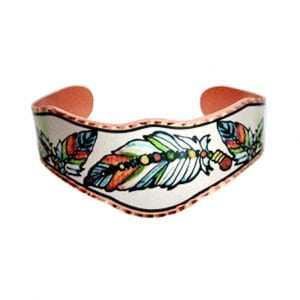 Southwest Native Feather Bracelet