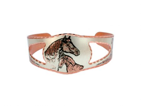 Foal and Mare Handcrafted Bracelet