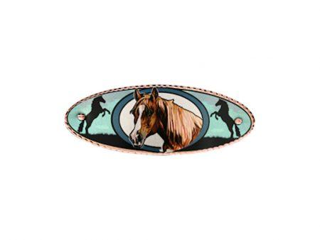 Horse Head Hair Clip