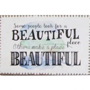 Inspirational Magnet - Beautiful