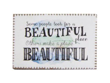 Inspirational Magnet - Beautiful