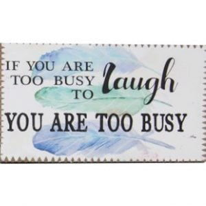 Inspirational Magnet - Laugh