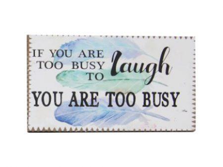 Inspirational Magnet - Laugh