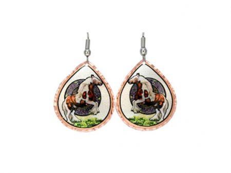 Handcrafted Irish Gypsy Horse Earrings