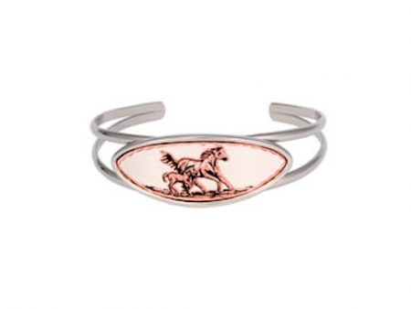 Mare and Foal Artisan Bracelet