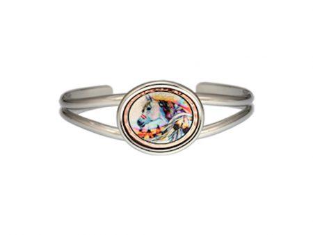 Handcrafted Native Indian Horse Bracelet