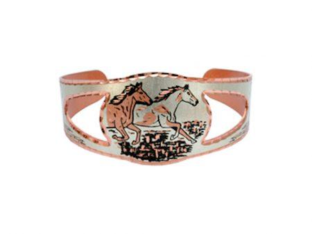 Running Wild Horse Bracelet