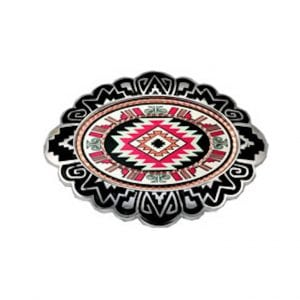 Colourful Southwest Native Inspired Belt Buckle