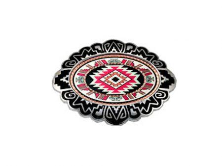 Colourful Southwest Native Inspired Belt Buckle