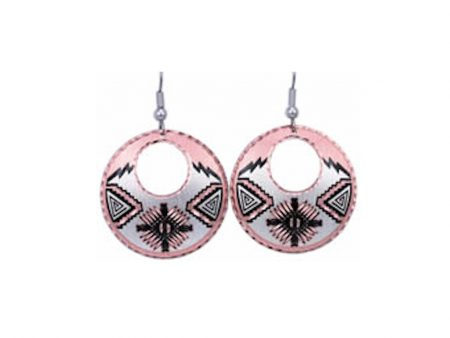 Southwest Native Sunburst Earrings