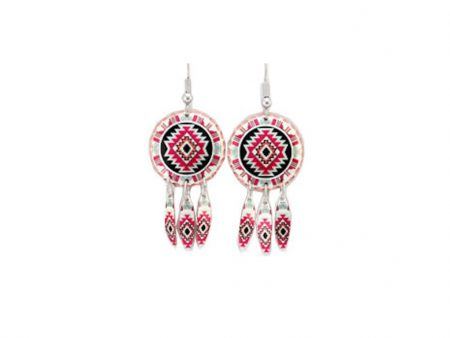 Handcrafted Southwest Native Dangle Earrings