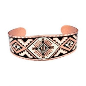 Southwest Native Sunburst Bracelet