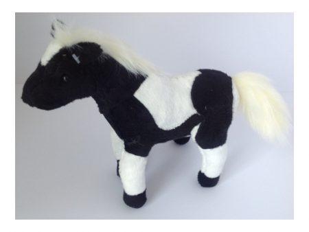 Cuddle Pal - Pony Black and White