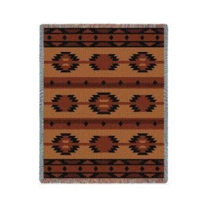 Tapestry Throw - Adobe Tan