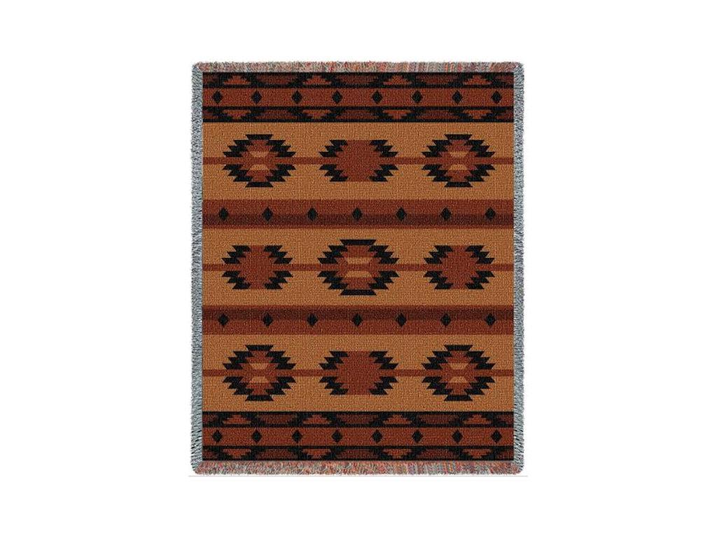 Tapestry Throw - Adobe Tan