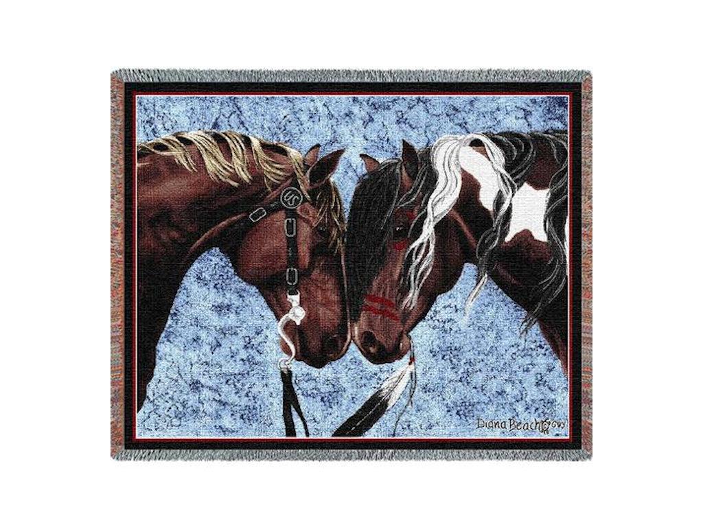 Tapestry Blanket - Warriors Truce
