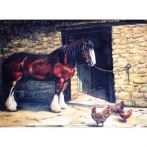 Heavy Horse Bath / Kitchen Mat