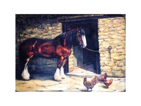 Heavy Horse Bath / Kitchen Mat