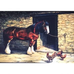 Heavy Horse Indoor / Outdoor Mat