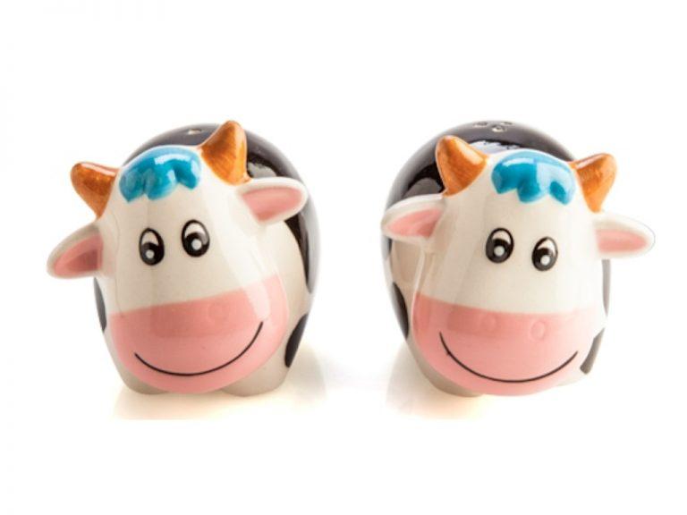 Salt & Pepper Shakers - Cows