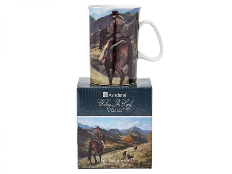 """Working the Land High Country Girl"" Coffee / Tea Mug"