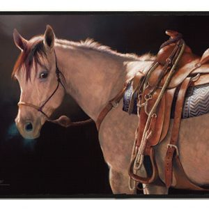 Jack's Night Horse Indoor / Outdoor Mat