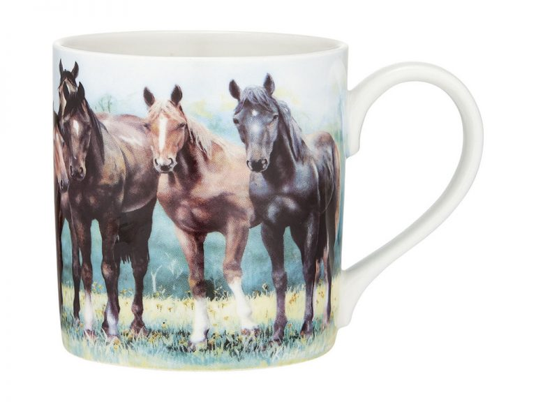 Beauty of Horses In the Pasture Coffee Mug