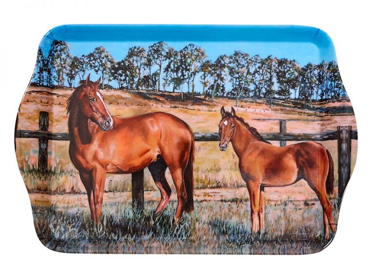 Beauty of Horses Better Together Scatter Tray