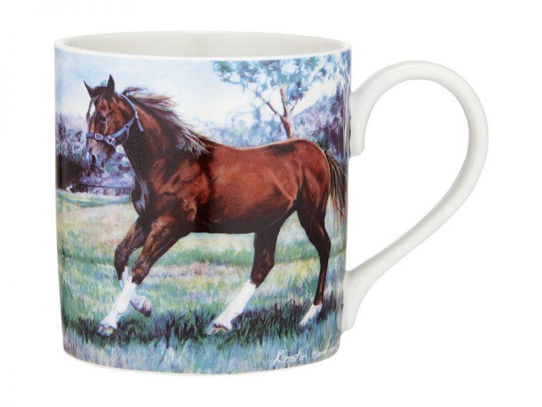 Beauty of Horses Cantering Spirit Coffee Mug