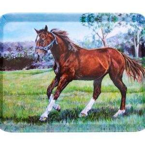 Beauty of Horses Cantering Spirit Scatter Tray