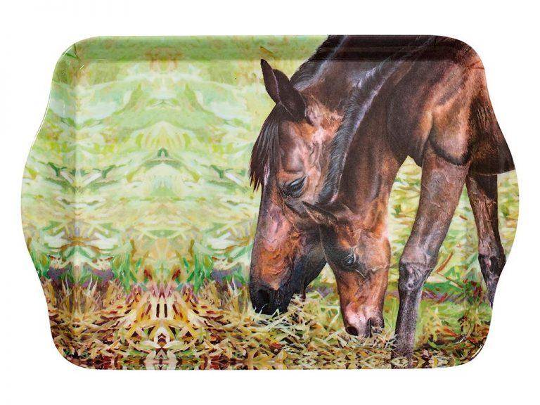 Beauty of Horses Morning Graze Scatter Tray