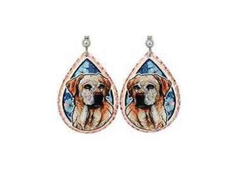 Labrador Retriever Dog Earrings